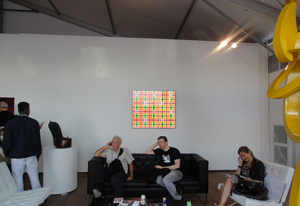 Nacho Rodriguez Bach at Red Dot Art Fair Miami.   (Miami, FL. USA.)