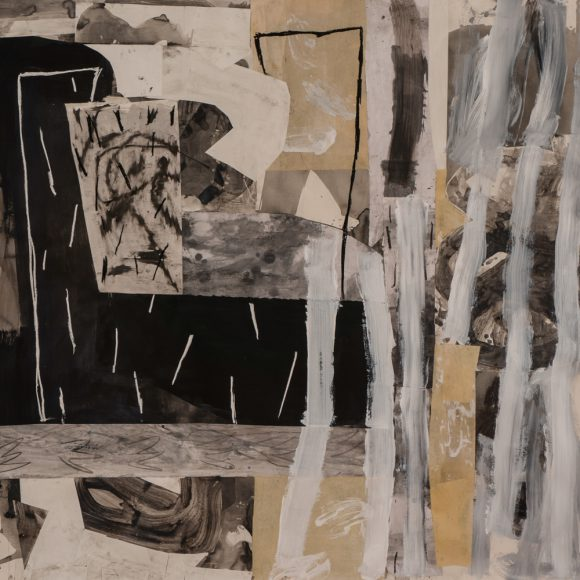 Untitled. Mixed media on paper IV, 60x65, 2014