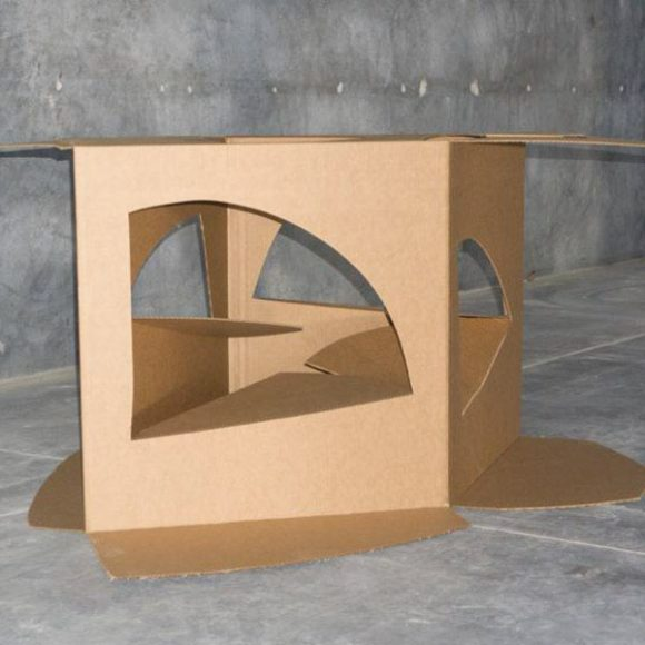 Structure series. Cardboard, variable measurements. *Can be made in iron and/or stainless steel