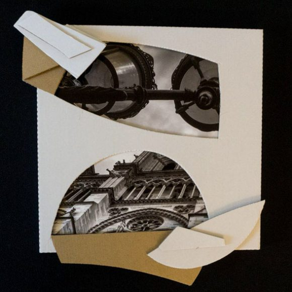 """Inside – Outside series. Photograph and assembly cardboard. 12"""" x 12"""". 2016 – 2020"""